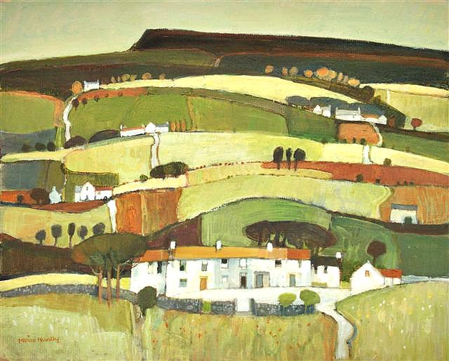 Wensleydale Landscape.