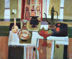 Interior with Still Life.