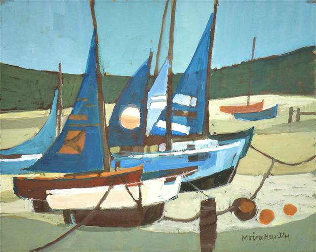 Blue Sails. SOLD