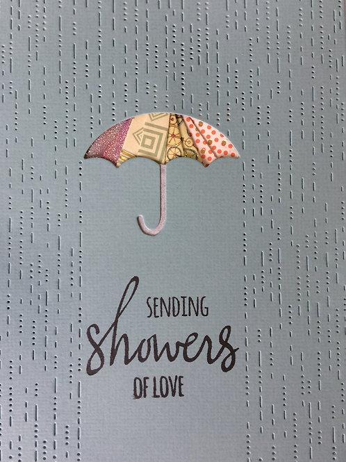 Umbrella Showers Greeting Card Kit