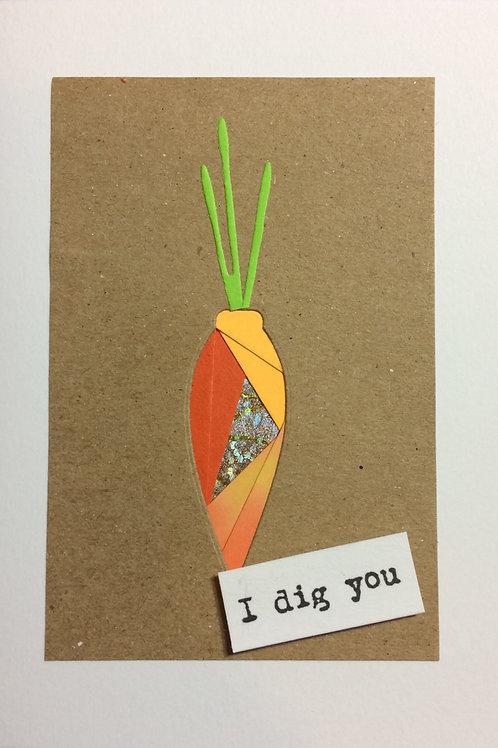 Carrot Greeting Card Kit