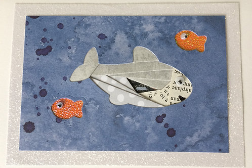 Shark Greeting Card Kit