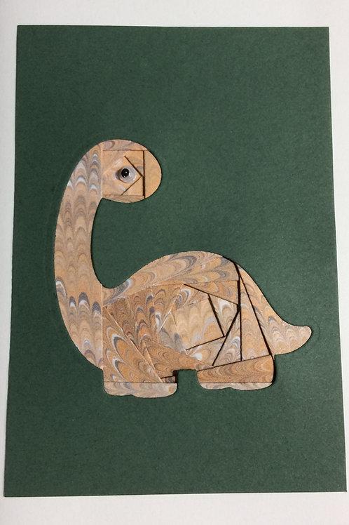 YouTube Dinosaur Iris Folding Card Kit