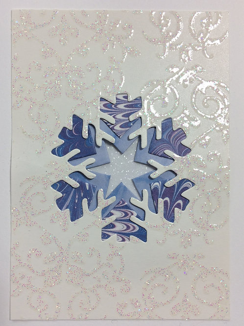 Snowflake Greeting Card Kit