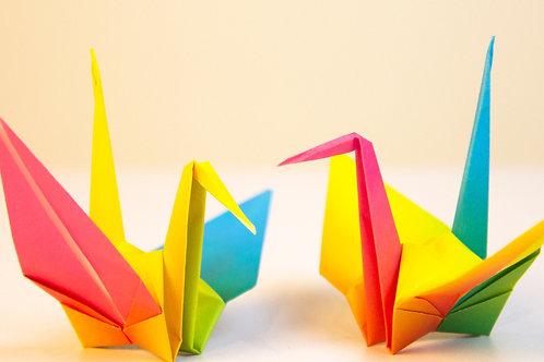 YouTube Origami Cranes Kit