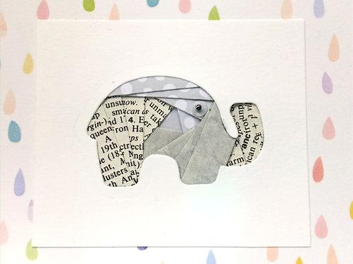 YouTube Elephant Iris Folding Greeting Card Kit