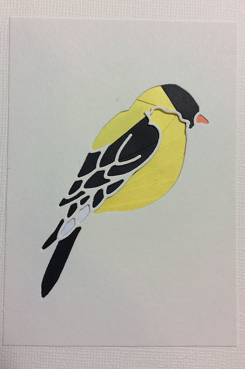 Goldfinch Greeting Card Kit