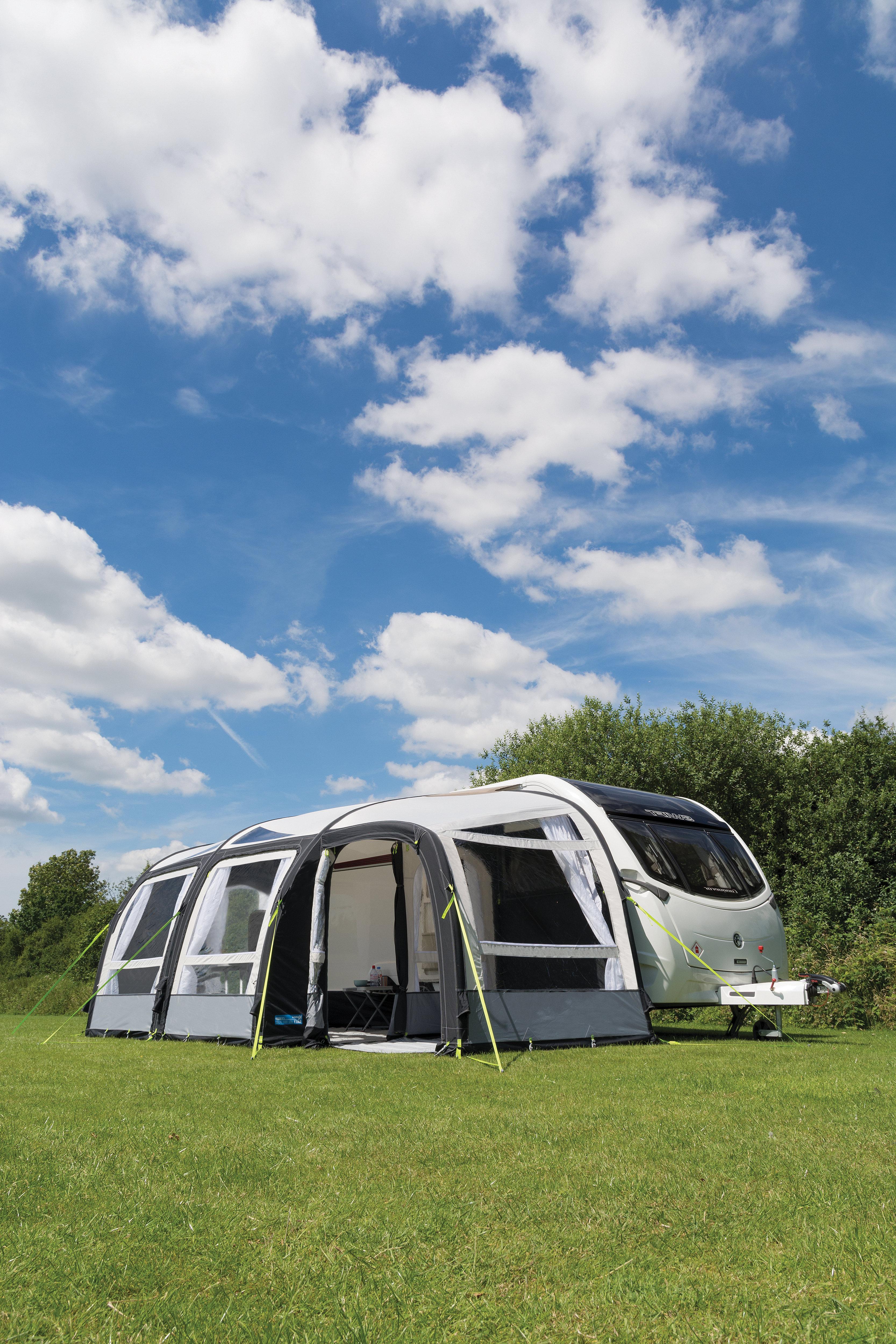 Kampa Rally Air Pro 390 Plus Caravan Awning RH | air-awnings