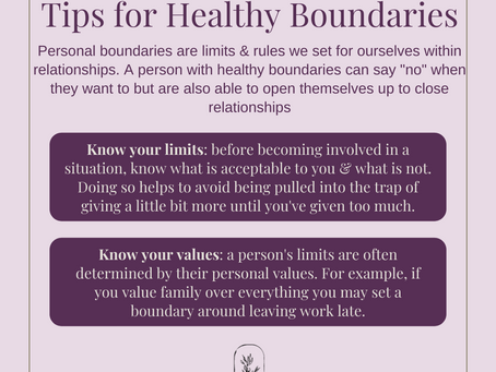 Boundaries - Why They are Important & Tips for Setting Them
