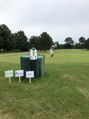 Hole sponsors recognized throughout the course