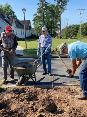 Landscaping Project at Shady Grove United Methodist Church
