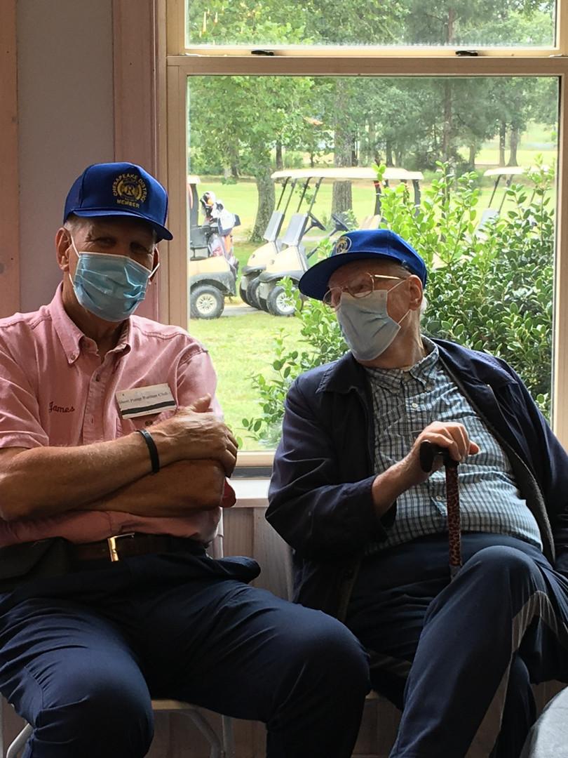 SPRC members Jim Attkisson and Norwood Nuckols
