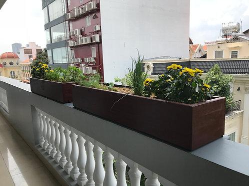 Chậu Gỗ | Planter Box (L64.5xW21.5xH19cm)
