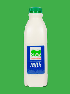 Kiewa 1Litre Full Cream Milk