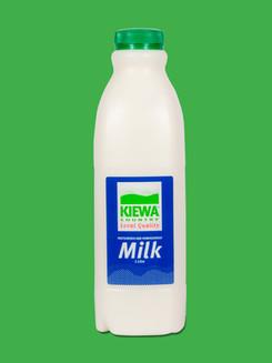 Kiewa 1Litre Full Cream Milk