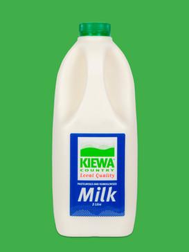 Kiewa 2 Litre Full Cream Milk