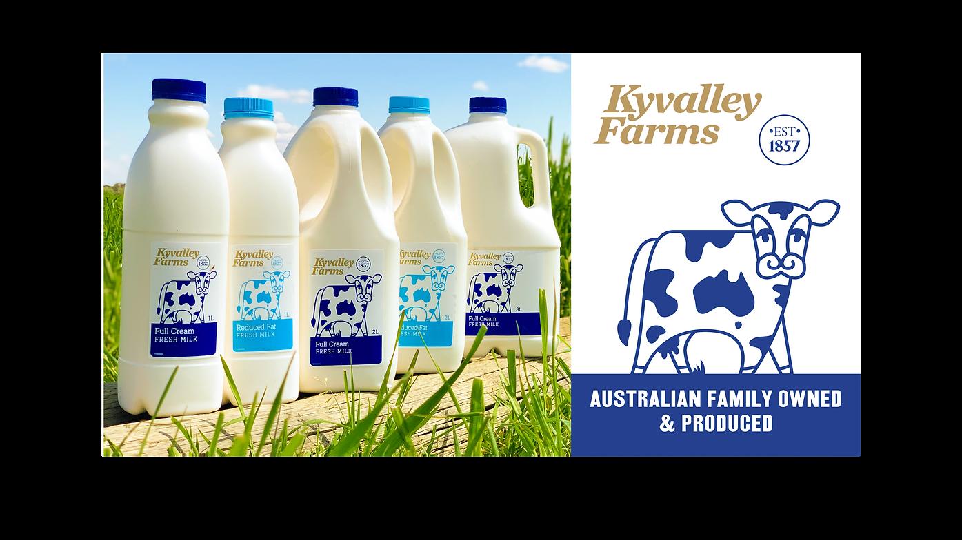 Kyvalley Farm - Est 1857.  Australian Family Owned & Produced