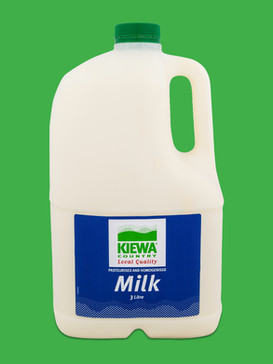 Kiewa 3L Full Cream Milk