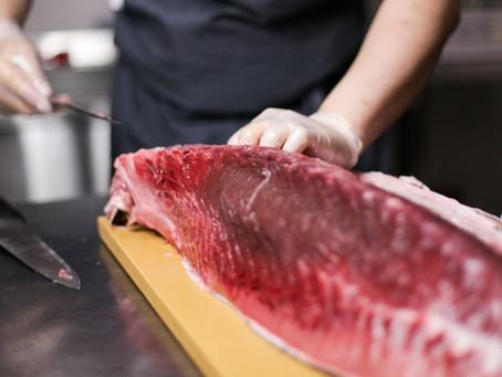 Exportaciones de atún fresco en Colombia en 2020