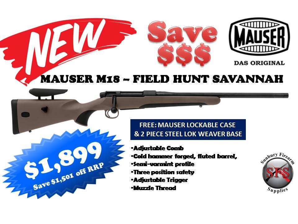 Mauser M18 Savannah