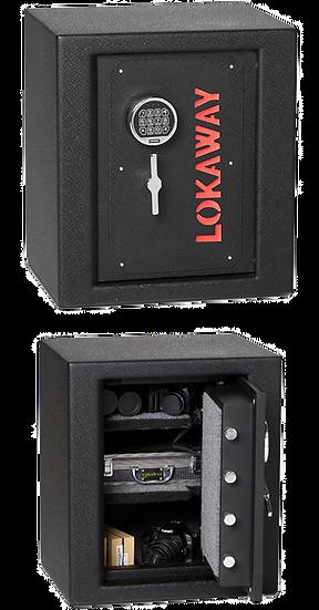 Lokaway Pistol Digital Safe L610F-BSG