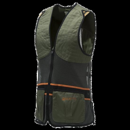Beretta Full Mesh Vest Dark Olive - Unisex