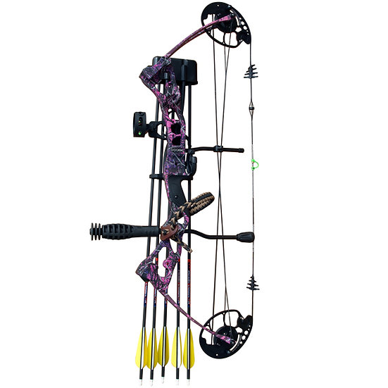 Vulture Pink Camo Compound Bow Package