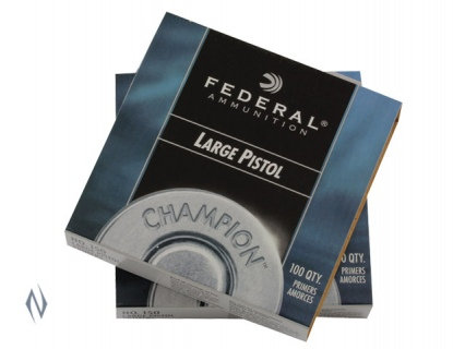 Federal Large Pistol Primers No 150 x 100
