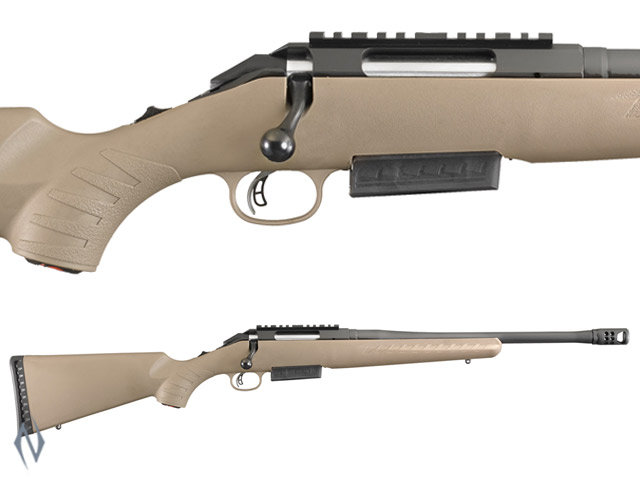 "Ruger American Ranch .450 Bushmaster Blued 16"" Brake"
