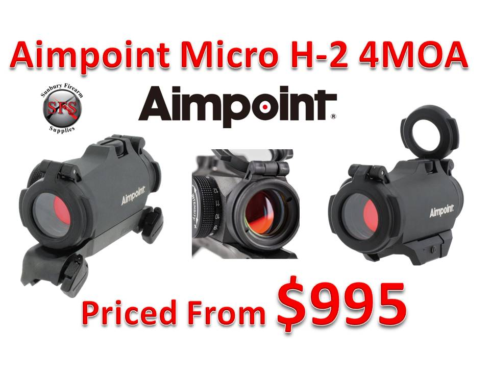 Aimpoint Micro H-2 4MOA