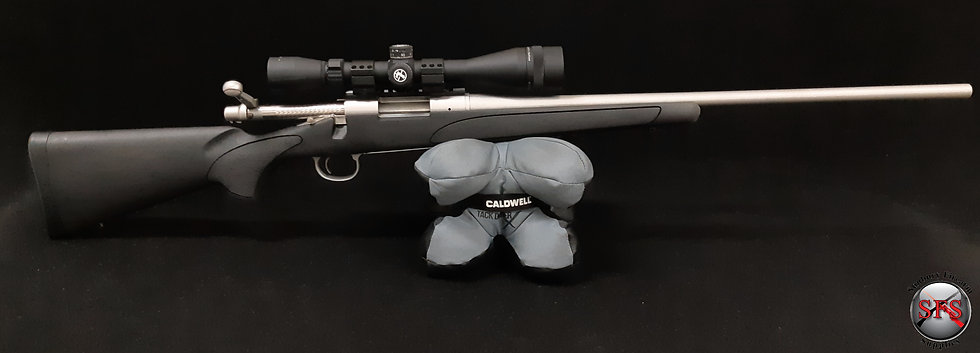 Remington 700 .22-250 Stainless + Scope