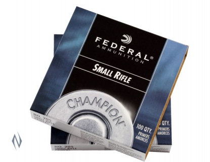 Federal Small Rifle Primers No 205 x 100