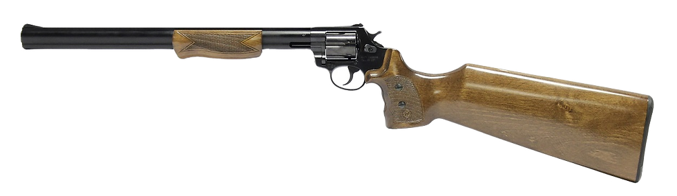 "Alfa Proj Carbine .22LR Revolver Rifle 16.5"" Blued - 9 Shot"