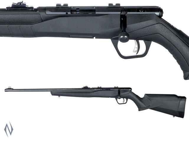 Savage B22 .22lr Left Hand Blued Synthetic 10 Shot with Sights