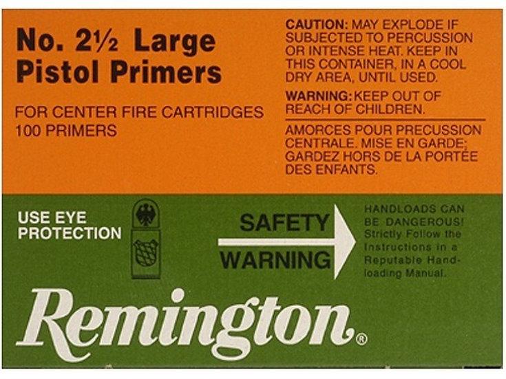 Remington Large Pistol Primers No 2.5 x 100
