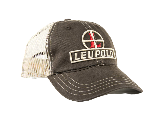 Leupold Soft Trucker Cap Brown LE170579