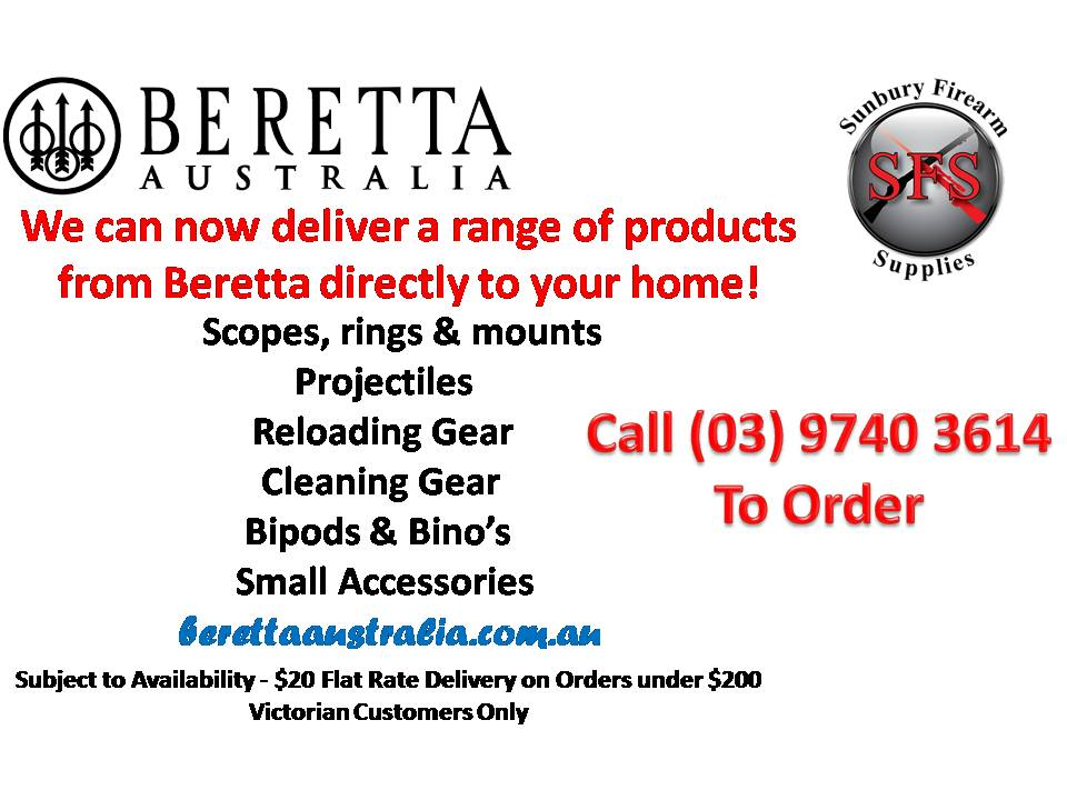Beretta Delivery Deal