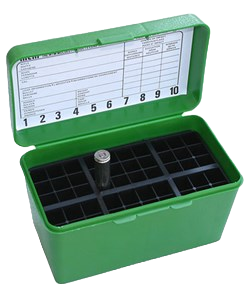 MTM H50-RS-10 green ammo box