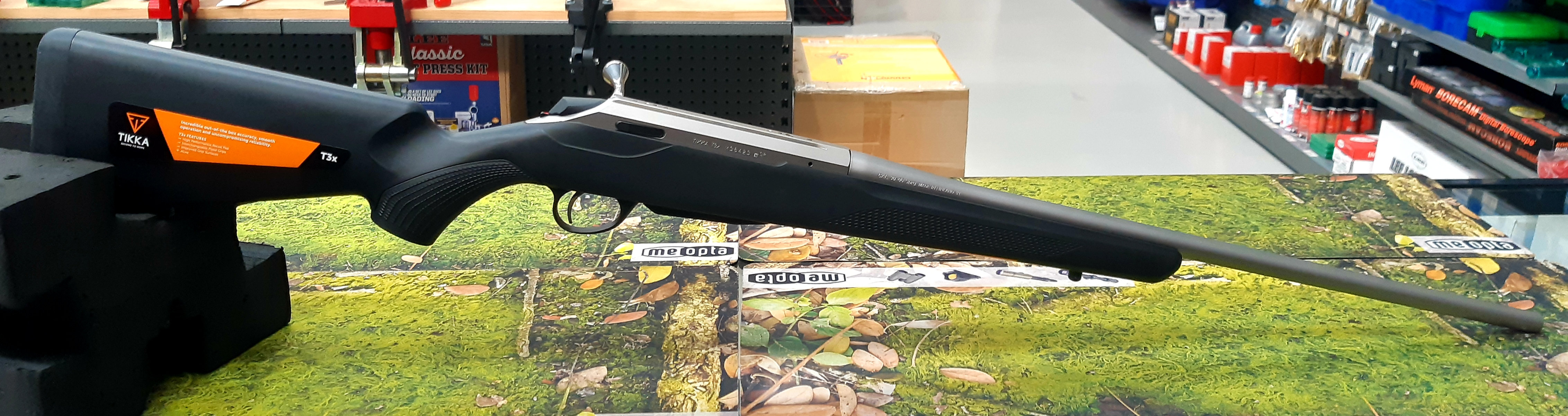 Tikka T3x Lite Stainless Synthetic  30-06 Left Hand