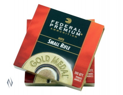 Federal Gold Medal Small Rifle Primers x100