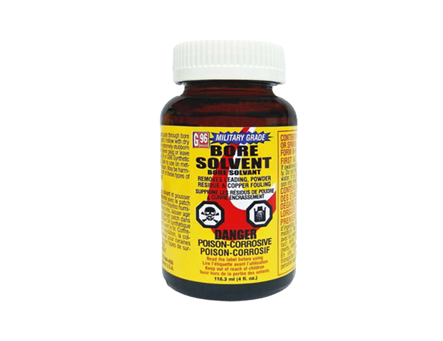 G96 Military Grade Bore Solvent 4 oz