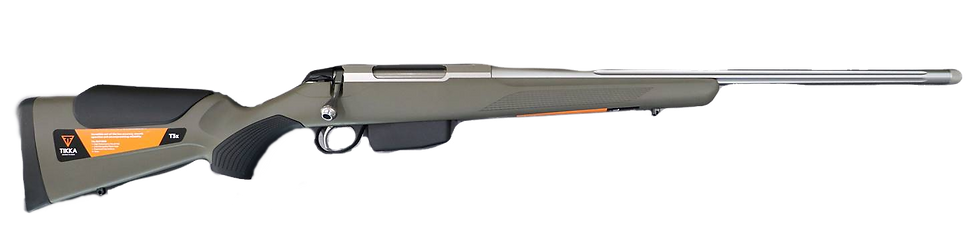 Tikka T3x Aspire Light Green Stainless Fluted 2020 Oz Edition