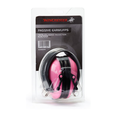 Winchester Pink Low Profile Earmuffs