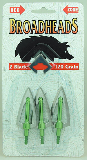 Redzone Two Blade Broad head 120gr