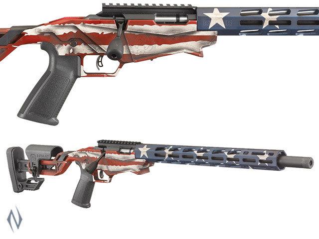 Ruger Precision Rimfire .22LR USA Flag