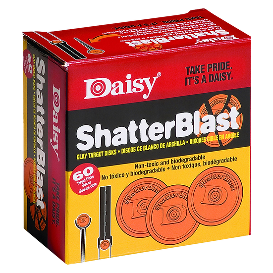 Daisy Clay Targets ShatterBlast 60 Pack (873)