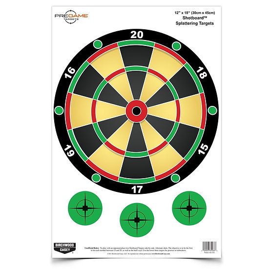 "Birchwood & Casey Shotboard 12""x18"" 8pack"