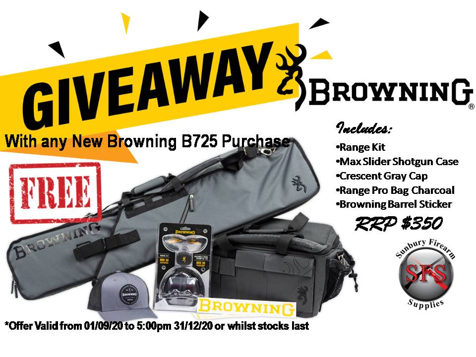 Browning Giveaway