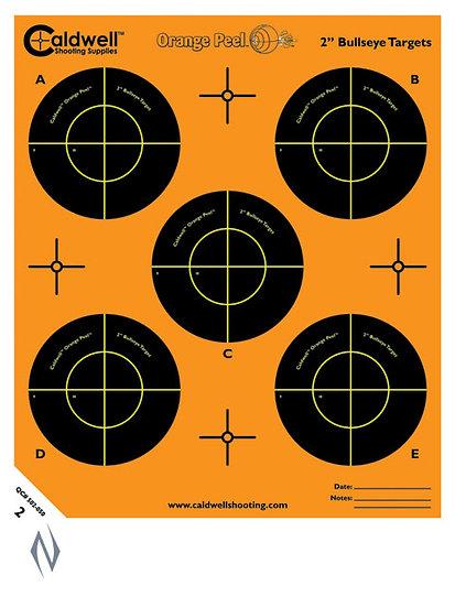 "Caldwell Orange Peel Bullseye 2"" 10 pack"