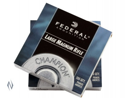 Federal Large Rifle Magnum Primers No 215 x 100